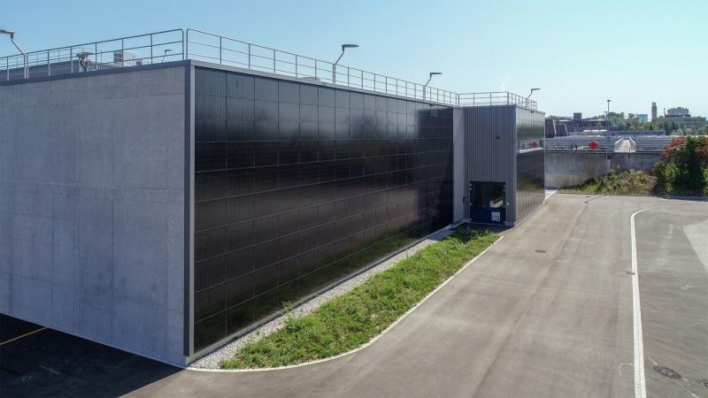 MegaSlate Fassade Werdhölzli 02