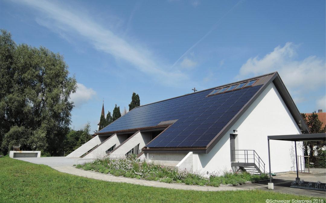 Neues Solardach für die Kirche