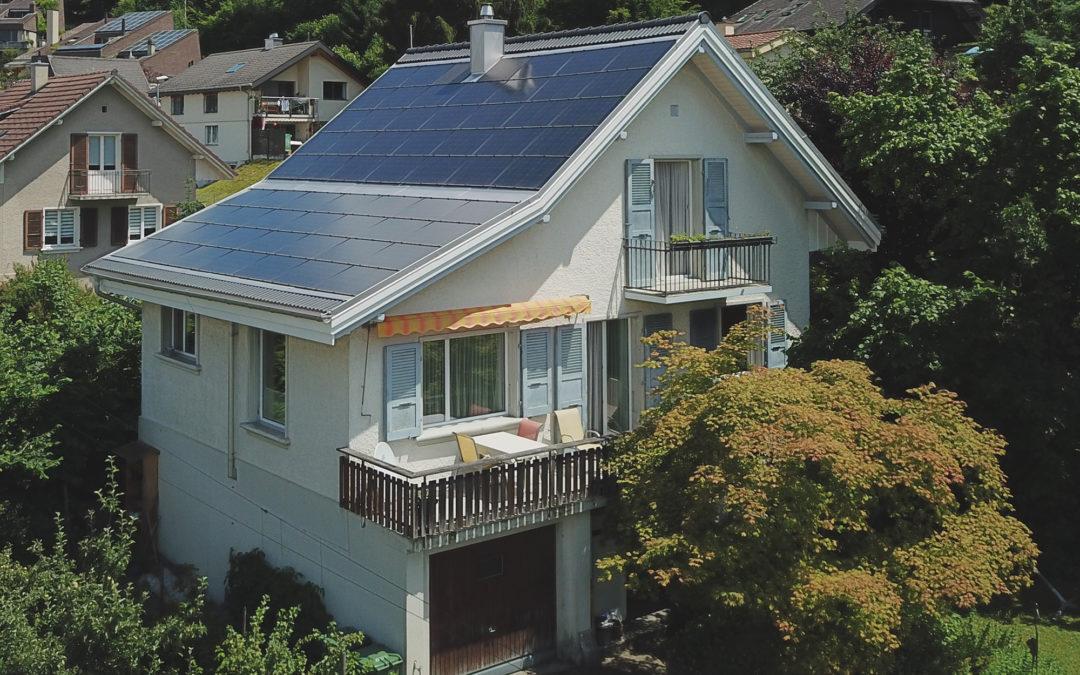 Villa individuelle à énergie positive