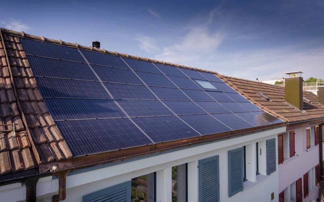 Solar auf einem denkmalgeschützten Reihenhaus? kein Problem!