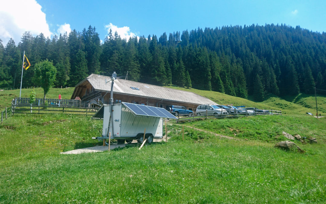 Ein cleverer Solaranhänger