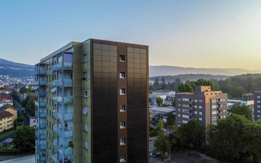 Fassaden-Facelifting mit Solarstrom
