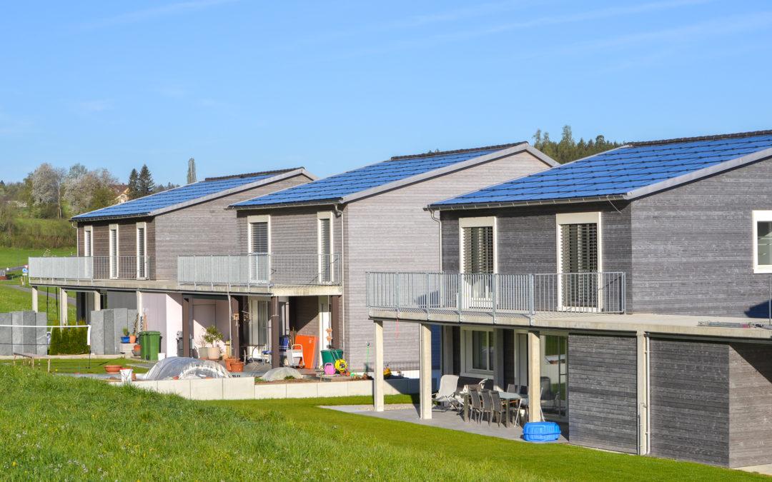 MegaSlate-Siedlung in Niederuzwil